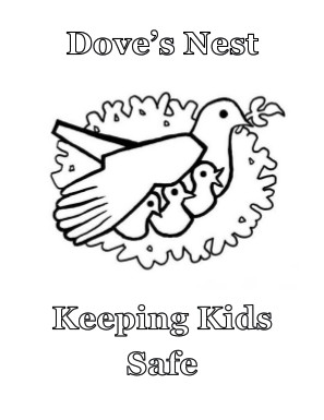 Dove's Nest Logo Coloring Page